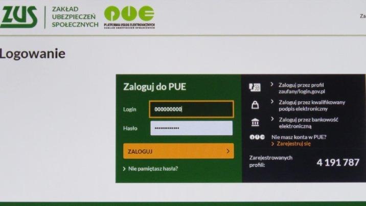 Elektroniczne umawianie wizyt w ZUS znowu dostępne dla klientów