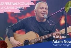 Jedna scena, dwa najbardziej nieoczywiste koncerty – Adam Nowak i Youth Novels – Malta na Bis w Koninie
