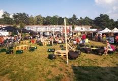 Ślesiński festiwal piwa przy gorącej plaży
