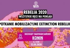 Aktywiści klimatyczni zaproszą mieszkańców Konina na Rebelię