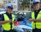 Policjanci wydziału ruchu drogowego na ogólnopolskiej antenie