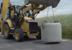 Budowa kanalizacji na tere ...