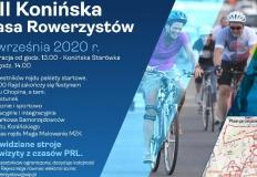 XIII Konińska Masa Rowerzystów, czyli rajd w klimacie PRL