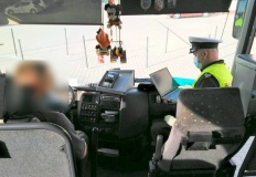 Malanów. Skontrolowali autobusy przewożące dzieci do szkół