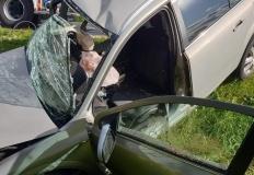 Wypadek na obwodnicy Sompolna. Kierowca zginął na miejscu