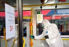 Autobusy MZK Konin regularnie dezynfekowane i bezpieczne