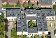 Konin. Fotowoltaika na dachu Spółdzielni Mieszkaniowej