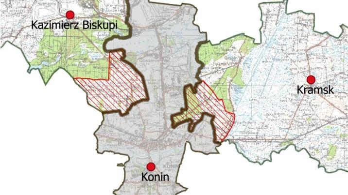 Władze Konina chcą powiększenia miasta o kilka sąsiednich wsi
