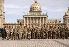 Amerykańscy żołnierze z Powidza odwiedzili licheńskie sanktuarium