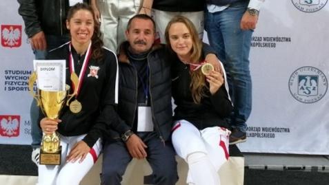Świetny start sezonu KKSz, trzy medale na mistrzostwach Polski
