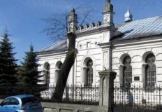 Działka za synagogę. Miast ...