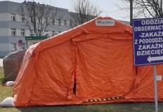 Zakażenie u 423 osób. W konińskim szpitalu zmarły trzy osoby