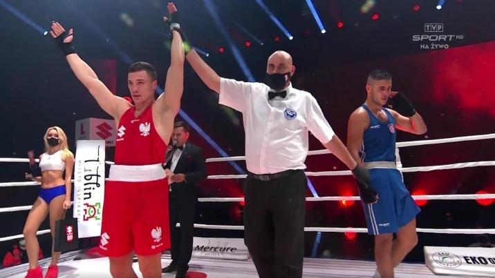 Goiński wygrywa w dobrym stylu podczas Suzuki Boxing Night III