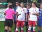 Pierwszy gol Kopińskiej w reprezentacji, grała też Grzywińska