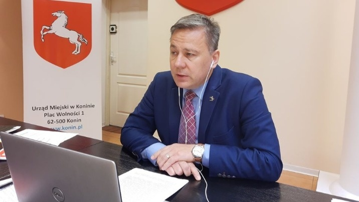Prezydent Konina Piotr Korytkowski zakażony wirusem SARS-CoV-2