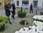 Przedstawiciele miasta złożyli kwiaty pod pomnikiem J. Piłsudskiego