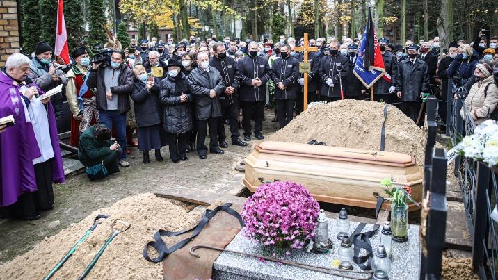 Licheń. Ks. Eugeniusz Makulski spoczął na miejscowym cmentarzu