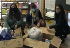 Akcja w ZS CKU. Uczniowie chcą pomóc samotnym pacjentom
