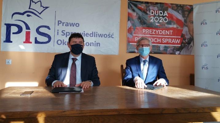 Parlamentarzyści PiS o gorszej współpracy z prezydentem Konina