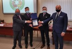 """Nagroda dla MZGOK za działalność ekologiczną """"EkoSymbol 2020"""""""