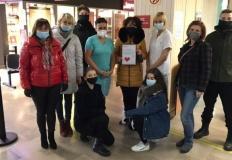 Finał zbiórki w ZS CKU. Do szpitala trafiły dary dla samotnych