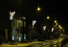 Stare Miasto. Pojawiły się iluminacje świąteczno - noworoczne