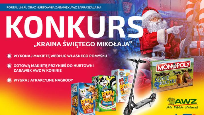 Świąteczny konkurs dla dzieci i młodzieży. Można wygrać hulajnogę elektryczną!