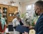 Bezpieczny pokój świątecznych spotkań pacjentów z bliskimi