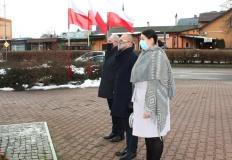 Turek. Kameralna uroczystość 76. rocznicy wyzwolenia miasta