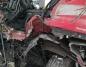 Wypadek na DK 25. Zderzenie czterech pojazdów. Ranny kierowca