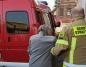Strażacy pomogli seniorom dotrzeć na szczepienie przeciw COVID