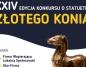 Przyjmowanie zgłoszeń do XXIV konkursu o statuetkę Złotego Konia