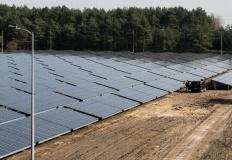 Konin.W PWiK powstaje największa farma fotowoltaiczna w mieście