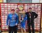 Trenerzy i koszykarka MKS MOS Konin ze złotym medalem OOM