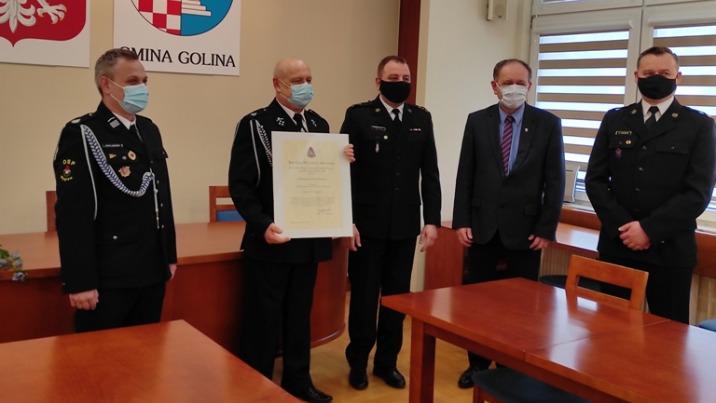 OSP Węglew w Krajowym Systemie Ratowniczo - Gaśniczym