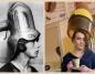 Konin. Stylizacje w stylu vintage w szkolnym salonie fryzjerskim ZST
