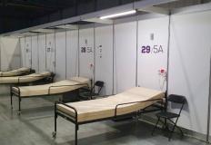 Wsparcie kadry medycznej w wielkopolskim szpitalu tymczasowym