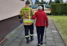Konińscy strażacy angażują się w pomoc w walce z pandemią