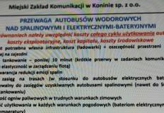 MZK Konin i pierwsze w Polsce zamówienie na autobus wodorowy