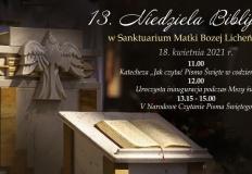 Zaproszenie na Niedzielę Biblijną do licheńskiego sanktuarium