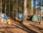 Od maja można legalnie nocować w lesie w specjalnych strefach