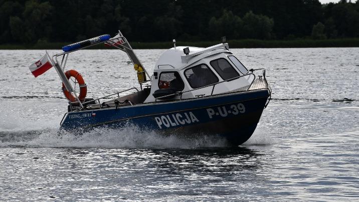 Powidz. Zespół policji do zapewnienia bezpieczeństwa na wodach