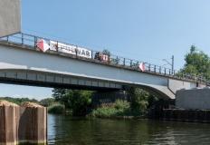 Most w Bernardynce się zmienia. Widać powoli kształt przeprawy