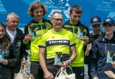 Garmin Iron Triathlon. Triton na podium w sztafecie i indywidualnie