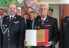 Rządził OSP Chorzeń przez 52 lata. Oddał Złoty Klucz do strażnicy