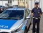 Konin. Policjant z drogówki pomógł przewieźć dziecko do szpitala