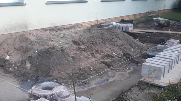 Konin. Przy hospicjum powstaje ogród zimowy z hortiterapią