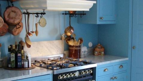 Eleganckie i nowoczesne kuchnie rustykalne
