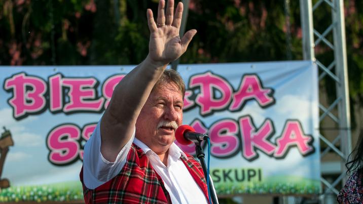 Kazimierz Biskupi. Tańczyli, śpiewali i jedli na I Biesiadzie Szewskiej