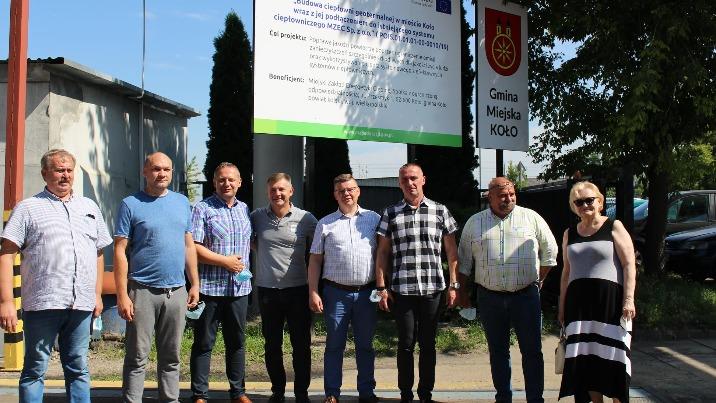 Delegacja z ukraińskiego miasta partnerskiego odwiedziła Koło